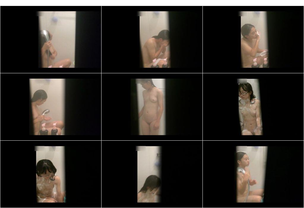 nur195 - nur195 ヌル濡れ。入浴中の〇学生乙女たちのリアルな裸体を